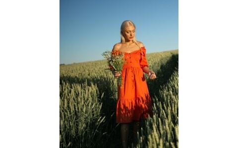 Платья из штапеля ― топ выбор модниц в 2020