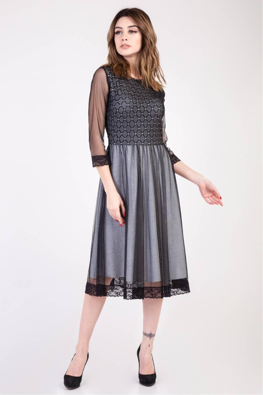 Женское платье Беллаиза - камни 81