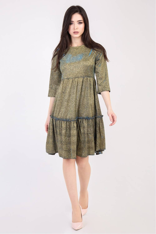 Женское платье глитерное 78