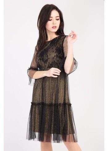 Женское платье Аделаиза-парча 90