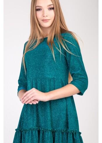Женское платье Адель-парча 95