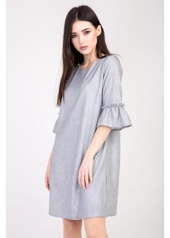 Женское платье Лидия серебро 97
