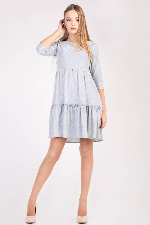 Женское платье Адель-парча 105