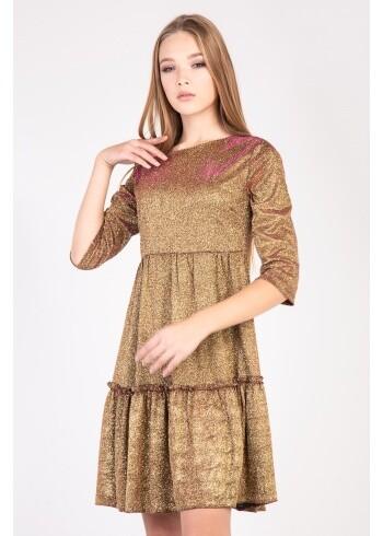 Женское платье Адель-парча  108
