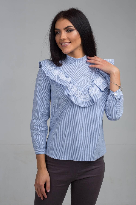 Женская блуза в полоску 171011