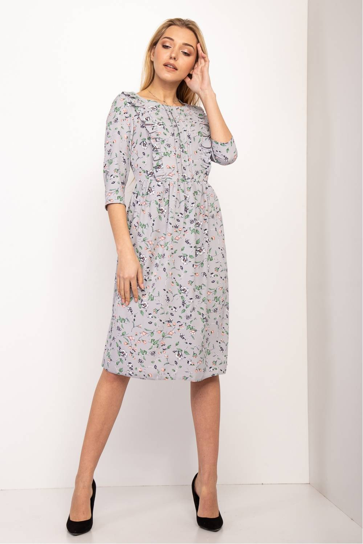 Женское платье Эрика -цветок 19041-5