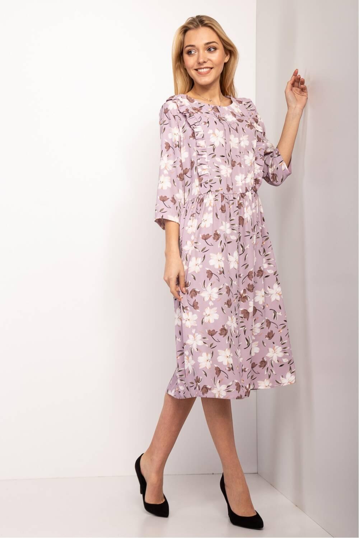 Женское платье Эрика -цветок 19041-3
