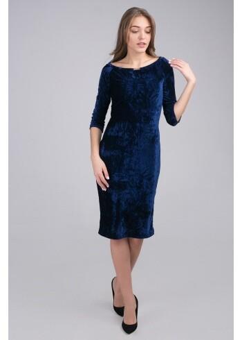 Платье женское бархатное Мирабелла 33