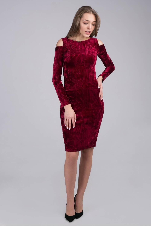 Платье женское бархатное Белинда 34