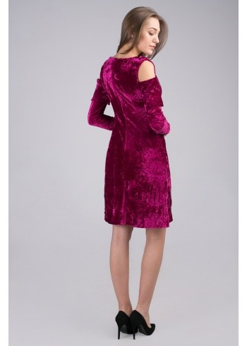 Платье женское бархатное Сабина 32