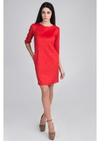 Женское замшевое платье  Gucci 12
