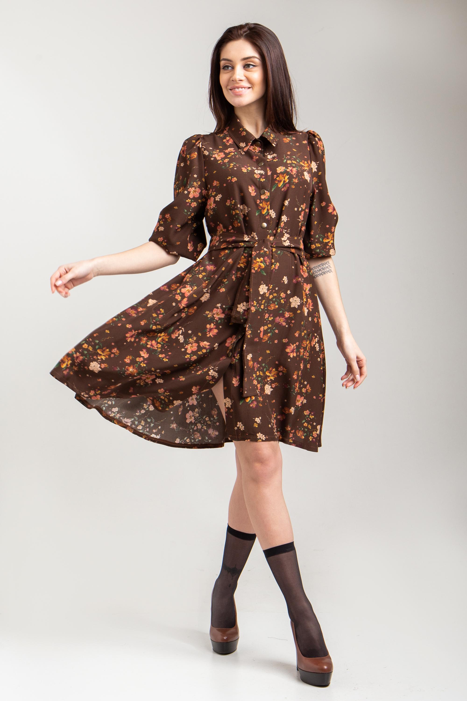 Цветочные летние платья